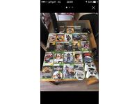 Xbox 360 slim with everything and lots of games