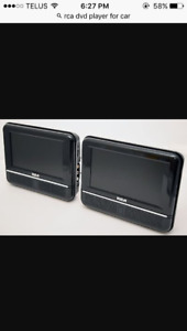2 rca DVD players for the car