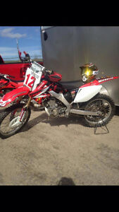 HONDA CR250F for SALE with OWNERSHIP