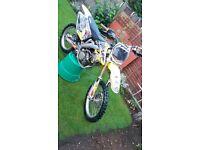 Rmz 250 2009 few bits onit cheap bike not crf 250 450 kxf 250 125 ktm 350 250 450