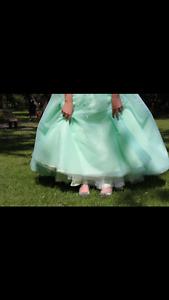 Mint Grad dress