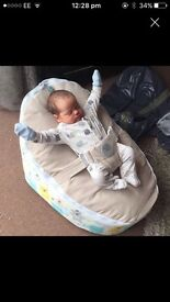 Baby planet baby bean bag brand new
