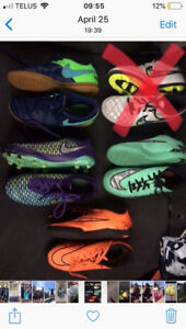 Youth kids soccer shoes