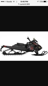 Looking for a sled 2013 summit 800
