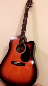 Mekse Acoustic Guitar BARELY Used