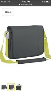 Targus TSM08001US Velos Messenger Bag (Charcoal)