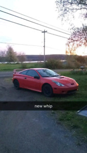 2002 Toyota celica for parts or repair