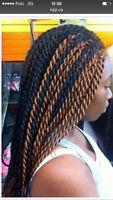 Tresse et coiffure africaine à domicile tous à 40$