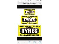 Tyres for sale in canon park Middlesbrough