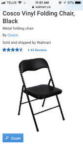 Looking for folding chairs euc