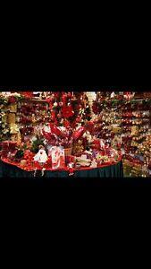 Huge blowout sale on Xmas decorations