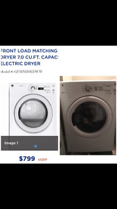 BRAND NEW GE DRYER FOR SALE