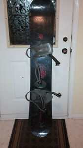 Board (159cm) and boots (size 9.5) package