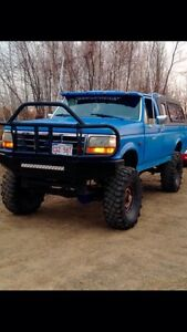 1992 Ford 1 ton lifted