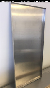 FOR SALE - 14 gauge aluminum trays with welded corners