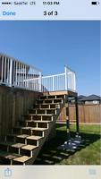 Decks, pergolas and fences!!