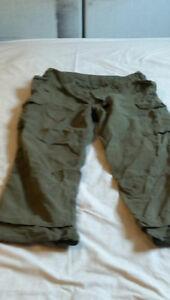 CDN Drab combat pants (x2), shirts (x2), bonnie combat hats (x2)