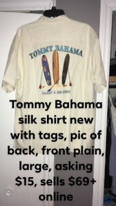 Men's Clothing Tommy Bahama new with tags etc Size Large