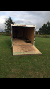 2013  28 ft enclosed trailer