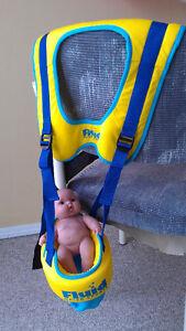 Baby swim holder/carrier