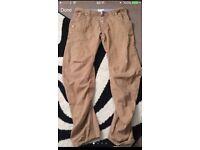 Men's twisted leg jeans- 34w/32leg