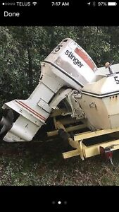 1978 Johnson outboard (75hp)