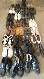 Men's shoes various sizes 8 to 14 (31 pairs)