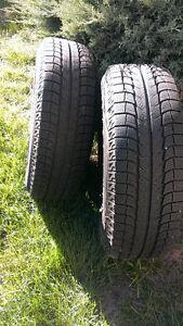 Michelin Latitude Pneus d'hiver usagés - Winter Tires used