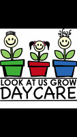 Relief staff needed at Look at us Grow Daycare!