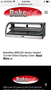 Bakemax Heated Display $750 for both by this Friday