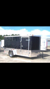 Enclosed trailer for rent  75 a day