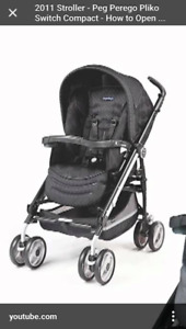 Peg Perego Pliko Switch Stroller