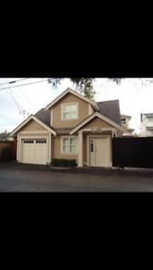 Quite Arbutus are 2 bedrooms Laneway house for rent