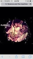 Florence and the machine ...booked