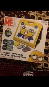 Despicable Me Travel Art Set.Double Gift,Brand New,Unopened.