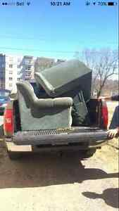 FREE COUCH FOR THE TAKING, PICKUP ONLY