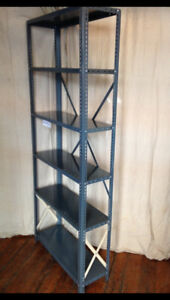 Steel Shelving Unassembled