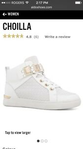 Women's white Choilla lace-up runners (Aldo)