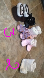 Baby shoes sizes 2 & 3
