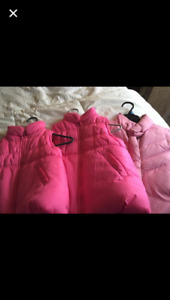 Girls size 4-7, coats, boots, clothes, dance shoes/outfits, dres