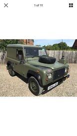 Land Rover Defender Ex-Mod Wolf