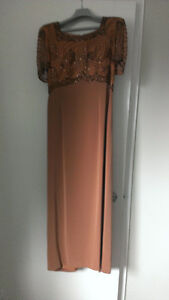 Women's Copper Size 12 Dress