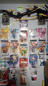 Amiibo Collection - Pokemon Metroid Mario Ryu Mega Man