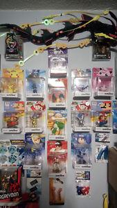 Amiibo Collection - Pokemon Metroid Mario Ryu Mega Man