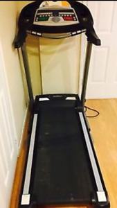 REDUCED PRICE - Treadmill Ex Condition Tempo fitness T620