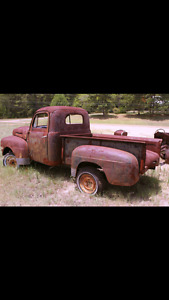 Wanted - rusted scrap 50's pickup