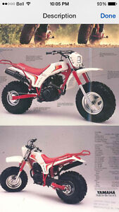 Yamaha bw200 and honda fat cat200