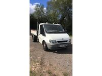 Ford transit tipper flat bed