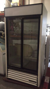Double glass sliding doors Deli Cooler Upright style!100% cold .