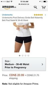 Post delivery maternity girdle